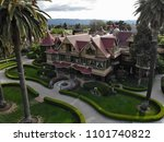 arial view of the winchester... | Shutterstock . vector #1101740822