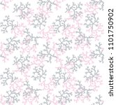 leaf pattern seamless | Shutterstock . vector #1101750902