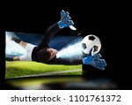 realism of sporting images...   Shutterstock . vector #1101761372