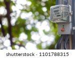 power meter the clipingpart... | Shutterstock . vector #1101788315