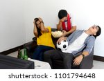 group of young people man and... | Shutterstock . vector #1101794648
