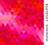 abstract colorful triangles... | Shutterstock . vector #1101823928