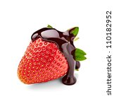 Close Up Of  Strawberry And...