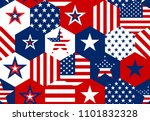 seamless patterns with american ... | Shutterstock .eps vector #1101832328