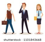 business people isometric... | Shutterstock .eps vector #1101843668