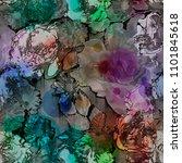 art vintage blurred colorful... | Shutterstock . vector #1101845618