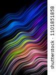 dark multicolor  rainbow... | Shutterstock . vector #1101851858