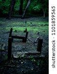 broken and forgotten    Shutterstock . vector #1101859565