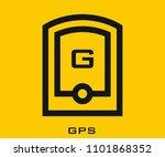 gps icon vector signs