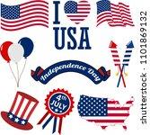 A Set Of Patriotic American...