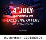 happy american independence day ... | Shutterstock .eps vector #1101880805