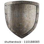 Old Metal Medieval Shield....