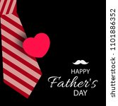 happy father's day vector... | Shutterstock .eps vector #1101886352