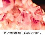 crystal stone macro mineral... | Shutterstock . vector #1101894842