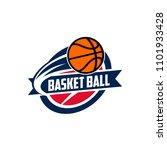 basketball club logo  emblem ...   Shutterstock .eps vector #1101933428