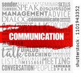 communication word cloud... | Shutterstock .eps vector #1101943352