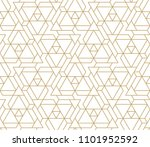 abstract geometric pattern with ... | Shutterstock .eps vector #1101952592