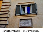 Small photo of ROME - MAY 05, 2018: It's the house where Stendhal lived in the centre on may 05, 2018 in Rome