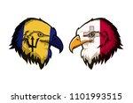 barbados vs malta | Shutterstock . vector #1101993515