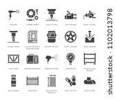welding services flat glyph... | Shutterstock .eps vector #1102013798