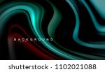 abstract wave lines fluid... | Shutterstock .eps vector #1102021088