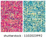 hand drawn abstract background... | Shutterstock .eps vector #1102023992