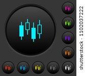 candlestick chart dark push...   Shutterstock .eps vector #1102037222