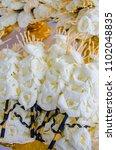 flowers paper for ceremony... | Shutterstock . vector #1102048835