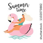 vector abstract summer time... | Shutterstock .eps vector #1102073882