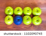standing out of the crowd... | Shutterstock . vector #1102090745