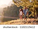 parents giving children...   Shutterstock . vector #1102115612