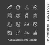 modern  simple vector icon set...   Shutterstock .eps vector #1102117718