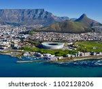 cape town  view... | Shutterstock . vector #1102128206