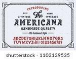 original handmade alphabet.... | Shutterstock .eps vector #1102129535