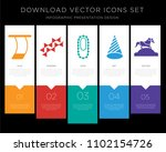 5 vector icons such as trapeze  ... | Shutterstock .eps vector #1102154726