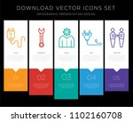 5 vector icons such as plug ... | Shutterstock .eps vector #1102160708