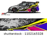 car livery graphic vector....   Shutterstock .eps vector #1102165328