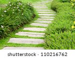 Landscaping In The Garden. The...