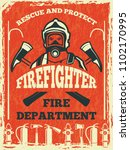 Poster For Firefighter...
