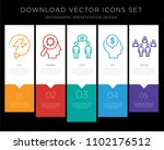 5 vector icons such as... | Shutterstock .eps vector #1102176512