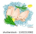 illustration of a dish of... | Shutterstock .eps vector #1102213382