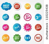 collection of best choice  best ... | Shutterstock .eps vector #110225438