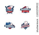 baseball badge logo design...   Shutterstock .eps vector #1102255922