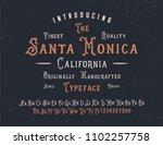 original handmade alphabet.... | Shutterstock .eps vector #1102257758