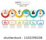 infographic template design... | Shutterstock .eps vector #1102298108