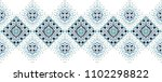ikat geometric folklore... | Shutterstock .eps vector #1102298822