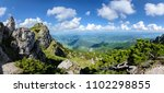 panorama from the great... | Shutterstock . vector #1102298855