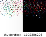 confetti  paper scatter falling ... | Shutterstock .eps vector #1102306205