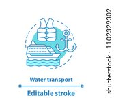 water transport concept icon.... | Shutterstock .eps vector #1102329302