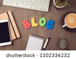 blog and information website... | Shutterstock . vector #1102336232